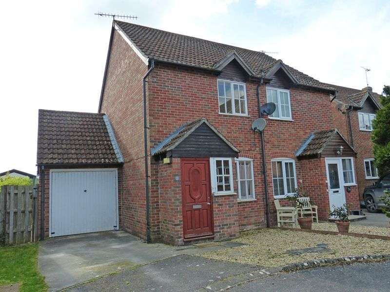 2 Bedrooms Semi Detached House for sale in Vicarage Gardens, Netheravon