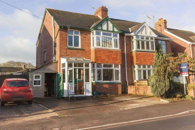 3 Bedrooms Semi Detached House for sale in Western Road, Crediton