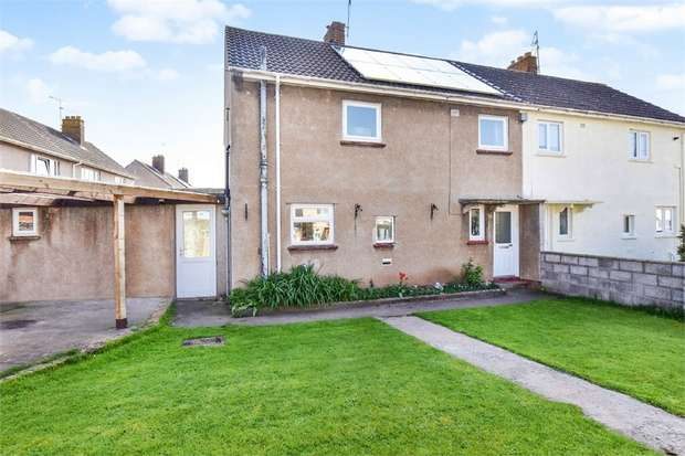 3 Bedrooms Semi Detached House for sale in Henley Park, Yatton, Bristol, Somerset