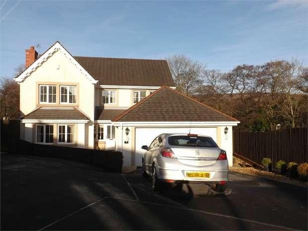 5 Bedrooms Detached House for sale in Henfelin, Garnant, Ammanford, Carmarthenshire