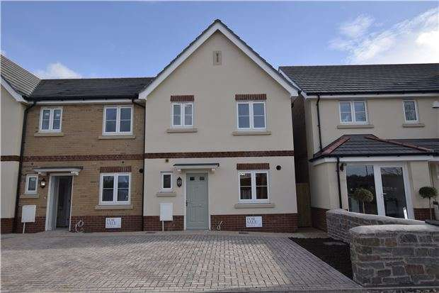 3 Bedrooms Terraced House for sale in Burton+, Plot 3 - Charlotte Mews, Cadbury Heath, BRISTOL, BS30 8DD