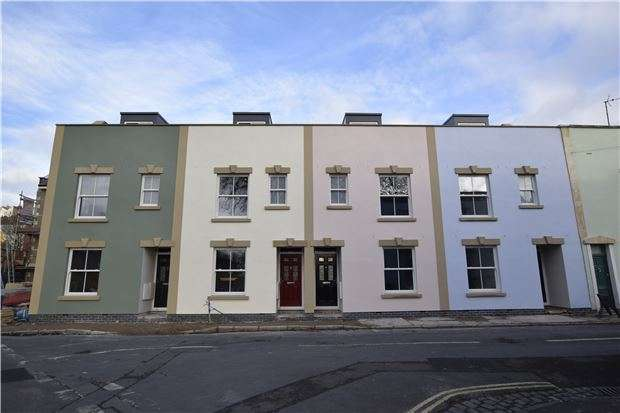 3 Bedrooms End Of Terrace House for sale in Plot 1 Hill Avenue, Hill Avenue, Bedminster, Bristol, BS3 4SG