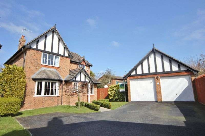 4 Bedrooms Detached House for sale in The Foxes, Thingwall, Wirral