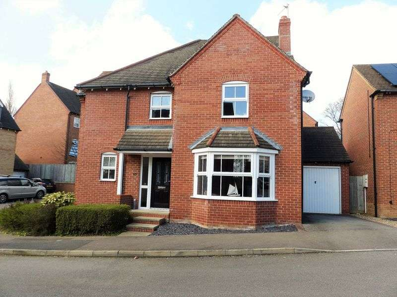 4 Bedrooms Detached House for sale in Eastfields, Braunston, NN11 7JN