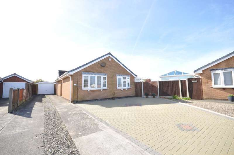 2 Bedrooms Detached Bungalow for sale in Benbow Close, St Annes, Lytham St Annes, Lancashire, FY8 2TB