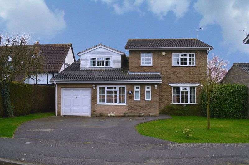 4 Bedrooms Detached House for sale in Maple Drive, Sudbrooke