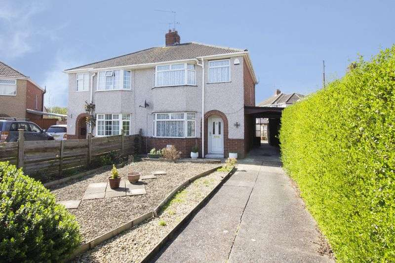 3 Bedrooms Semi Detached House for sale in Sussex Close, Newport