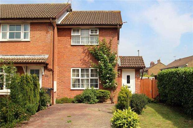 1 Bedroom End Of Terrace House for sale in Eagles Chase, Littlehampton, West Sussex, BN17