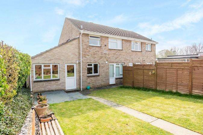 3 Bedrooms Semi Detached House for sale in Half Acres, Sherborne