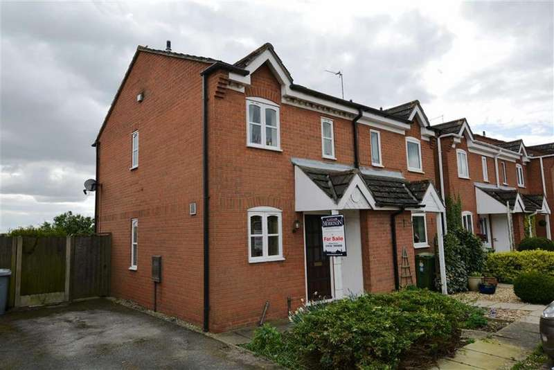 2 Bedrooms Semi Detached House for sale in Mill Close, Sutton On Trent, Nottinghamshire, NG23