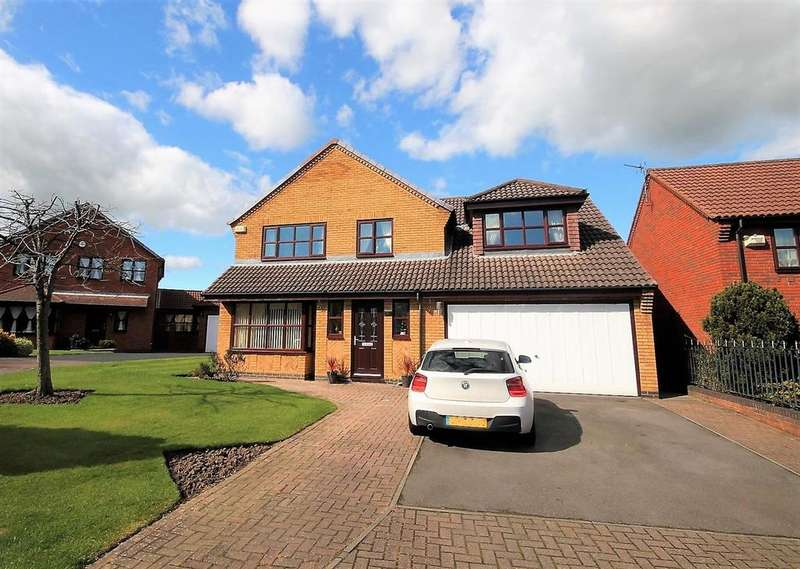 4 Bedrooms Detached House for sale in Spenborough Road, Stockton-On-Tees
