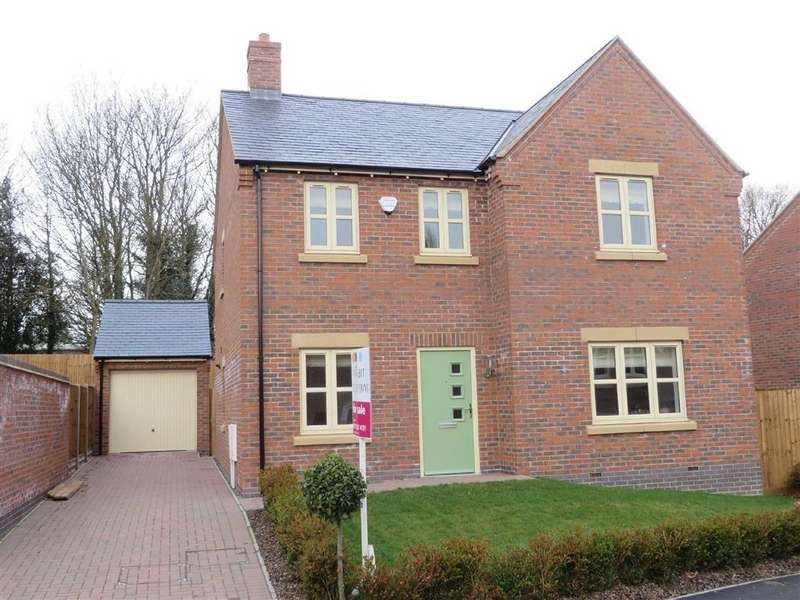 4 Bedrooms Detached House for sale in Ashton Drive, Enderby
