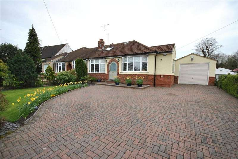 4 Bedrooms Semi Detached Bungalow for sale in Heathfield, Adel, Leeds