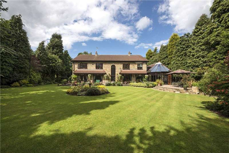 4 Bedrooms Detached House for sale in Woolsington Park South, Woolsington, Newcastle upon Tyne