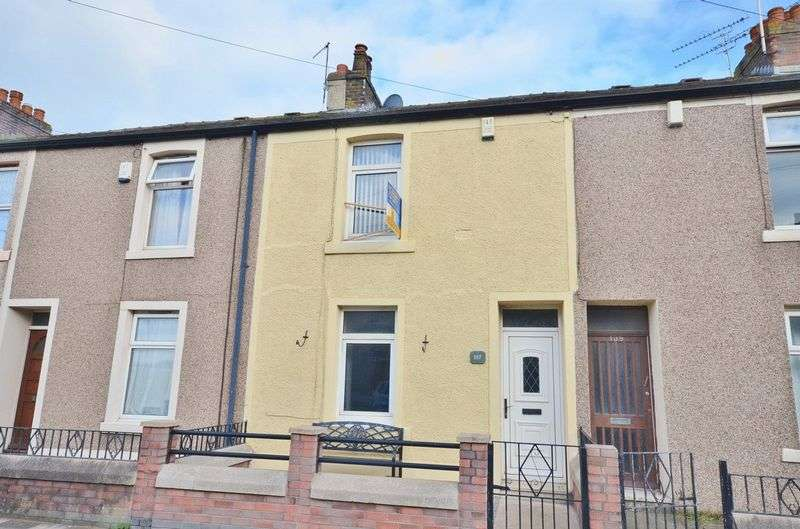 3 Bedrooms Terraced House for sale in Moss Bay Road, Workington