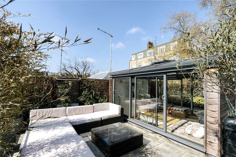 3 Bedrooms Mews House for sale in Logan Mews, London, W8