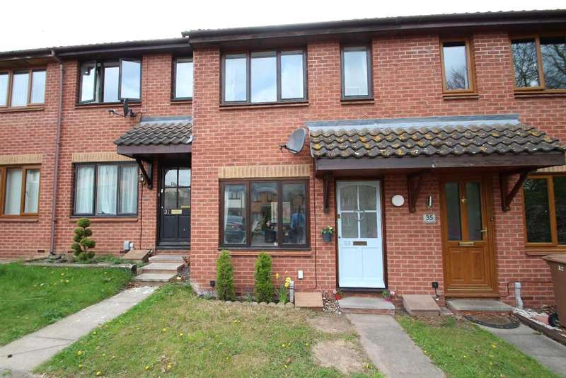 2 Bedrooms Terraced House for sale in Blair Close, Rushmere St. Andrew, Ipswich