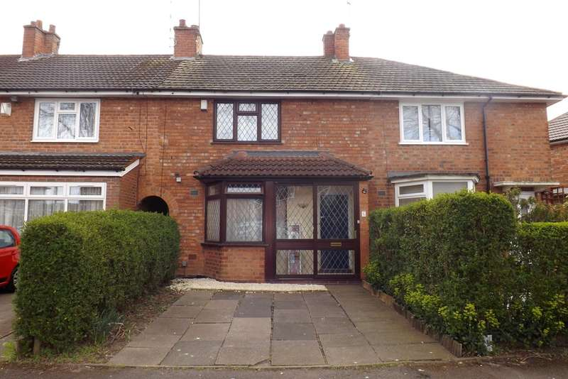 3 Bedrooms Terraced House for sale in Ashbrook Grove, Birmingham
