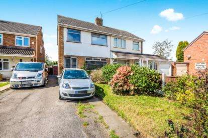 3 Bedrooms Semi Detached House for sale in Vigo Close, Walsall Wood, Walsall, West Midlands