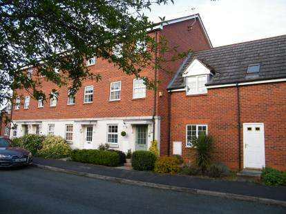 3 Bedrooms Town House for sale in Horton Way, Stapeley, Nantwich, Cheshire