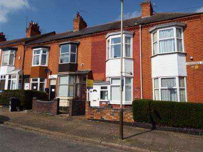 3 Bedrooms Terraced House for sale in Haddenham Road, Leicester