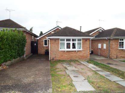 2 Bedrooms Bungalow for sale in Lynnes Close, Blidworth, Mansfield