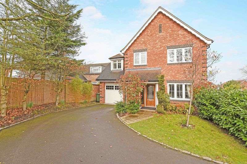 4 Bedrooms Detached House for sale in Coopers Place, Burghfield Common