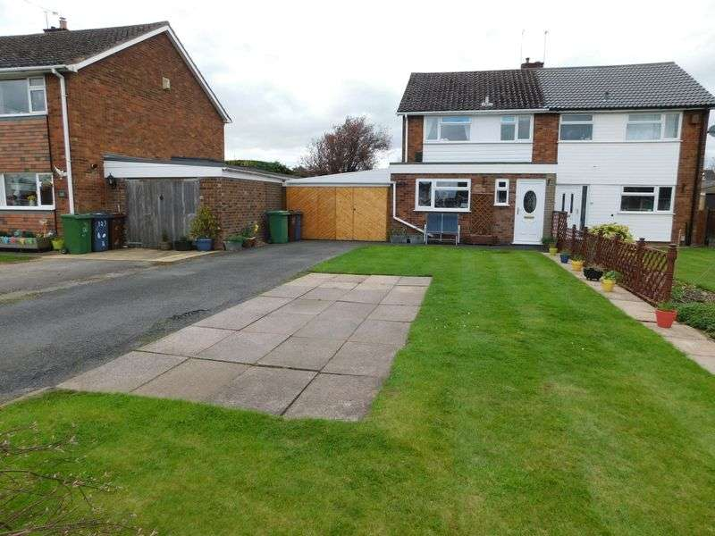 3 Bedrooms Semi Detached House for sale in Crab Lane, Stafford