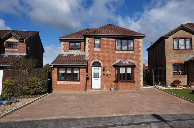 5 Bedrooms Detached House for sale in Ranfurly Drive, Carrickstone, Cumbernauld G68