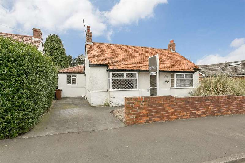 3 Bedrooms Detached Bungalow for sale in Station Road, Kenton Bank Foot, Newcastle upon Tyne