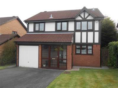 4 Bedrooms Detached House for sale in Hoylake Close, Turnberry, Bloxwich