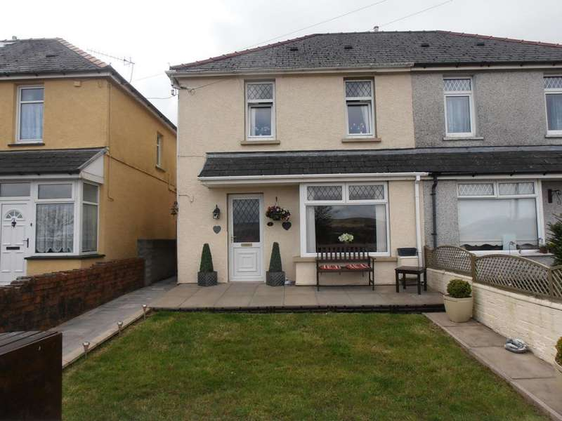 3 Bedrooms Semi Detached House for sale in Smiths Avenue, Rhigos, Aberdare