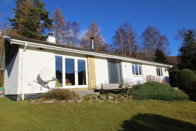 3 Bedrooms Detached Bungalow for sale in Kimfinlay, Strathconon, Muir Of Ord, IV6