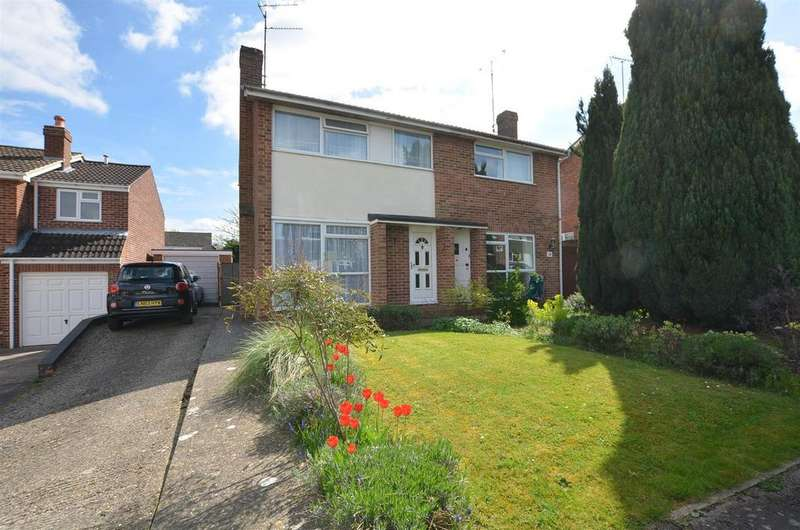 3 Bedrooms Semi Detached House for sale in Gwynne Close, Tilehurst, Reading