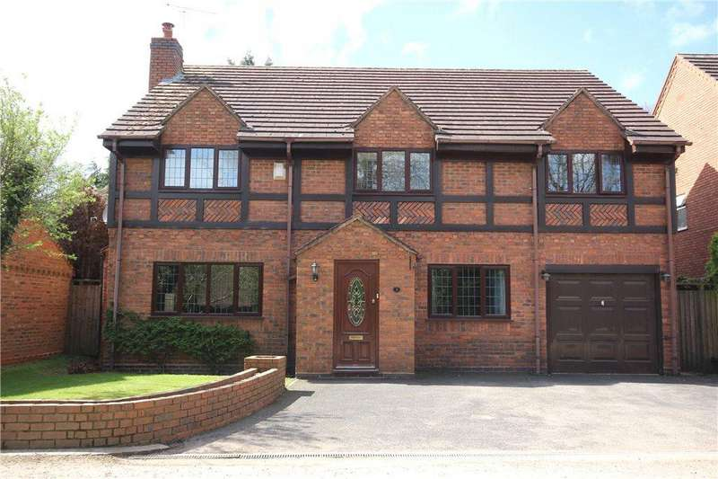 4 Bedrooms Detached House for sale in Shelly Lane, Shirley, Solihull, West Midlands, B90