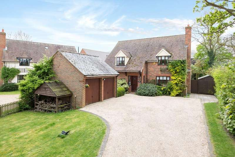 5 Bedrooms Detached House for sale in Town Farm Close, Off Swan Lane, GUILDEN MORDEN, SG8