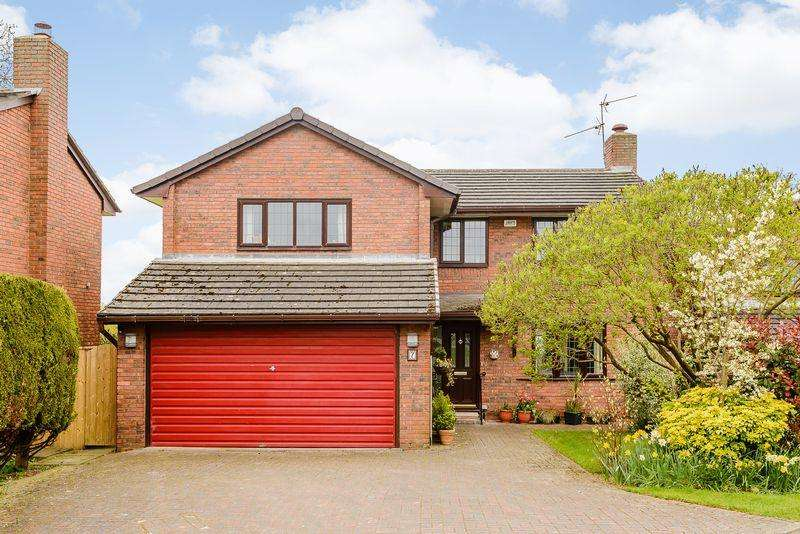 4 Bedrooms Detached House for sale in Tarporley
