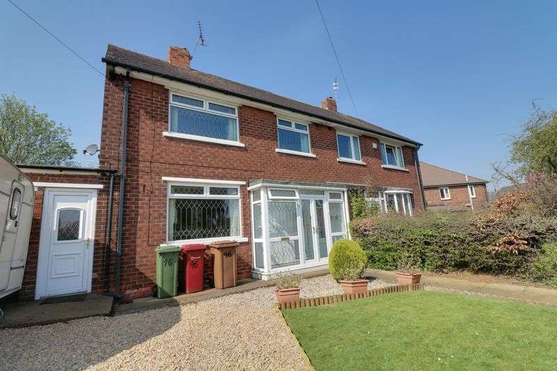 3 Bedrooms Semi Detached House for sale in Chestnut Way, Scunthorpe