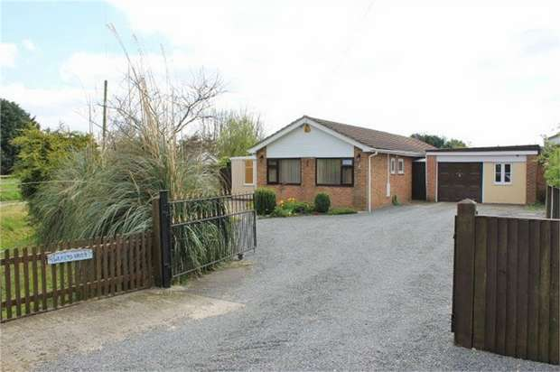 2 Bedrooms Detached Bungalow for sale in Mill Lane, Saltfleet, Louth, Lincolnshire