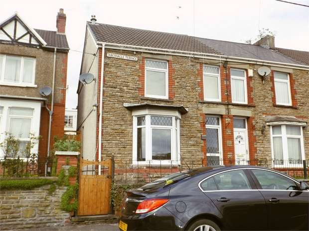 3 Bedrooms End Of Terrace House for sale in Tabernacle Terrace, Cwmavon, Port Talbot, West Glamorgan