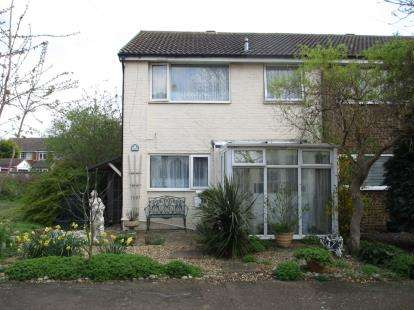 3 Bedrooms End Of Terrace House for sale in Foster Way, Wootton, Bedford, Bedfordshire