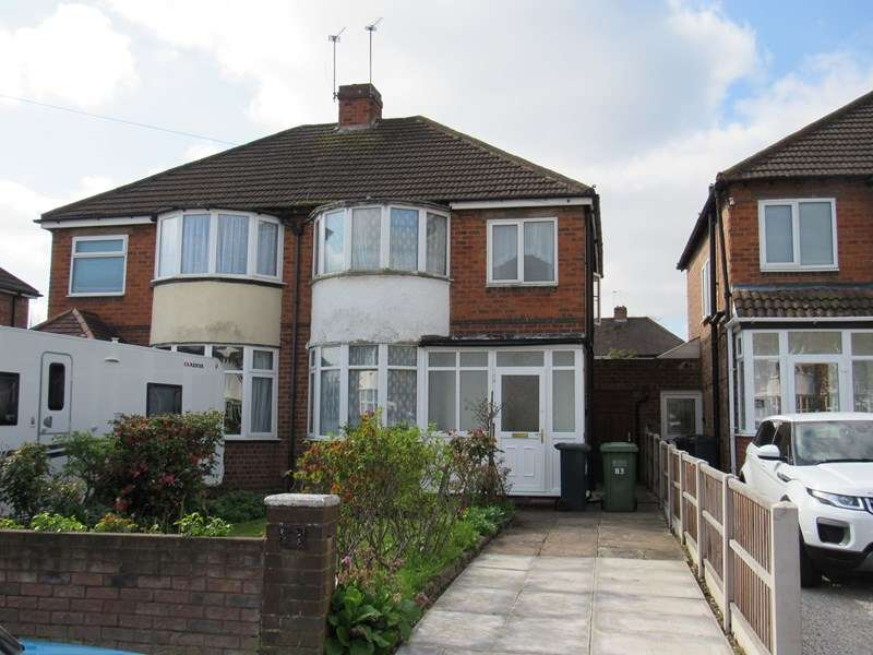 3 Bedrooms Semi Detached House for sale in Harvard Road, Solihull