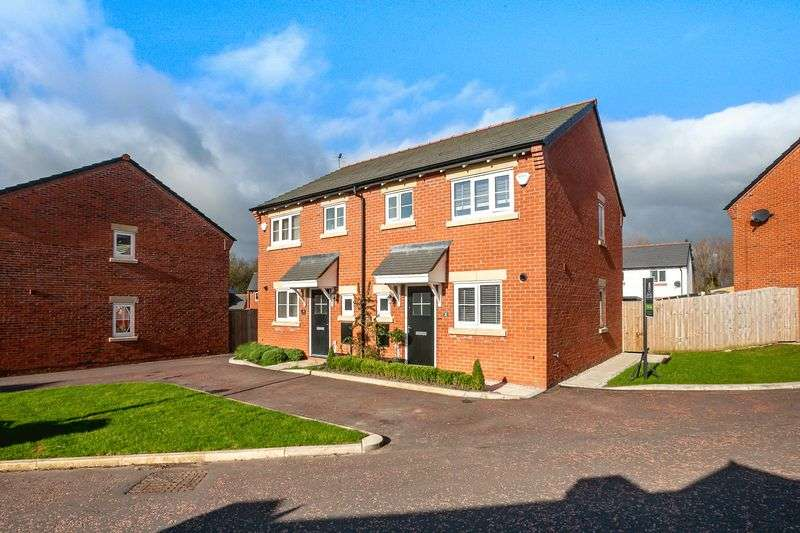 3 Bedrooms Semi Detached House for sale in Bannister Court, Shevington, WN6 8GE