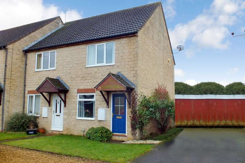 2 Bedrooms End Of Terrace House for sale in Siddington