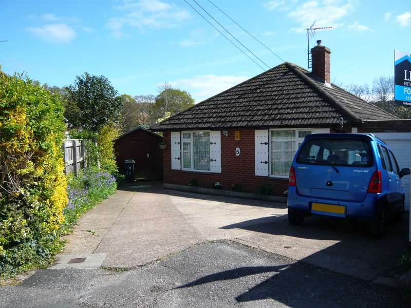 2 Bedrooms Detached Bungalow for sale in Dene Close, Exmouth
