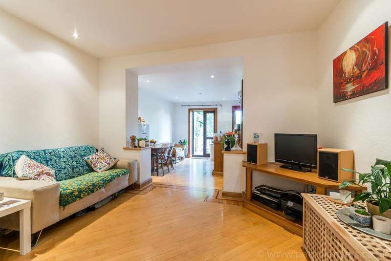 3 Bedrooms Ground Maisonette Flat for sale in Canonbie Road, Forest Hill, London, SE23 3AP
