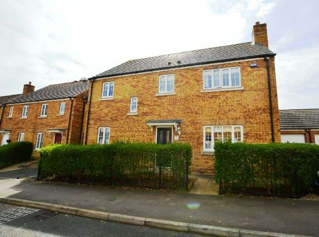 4 Bedrooms Detached House for sale in Howards Way, Moulton Park, Northampton