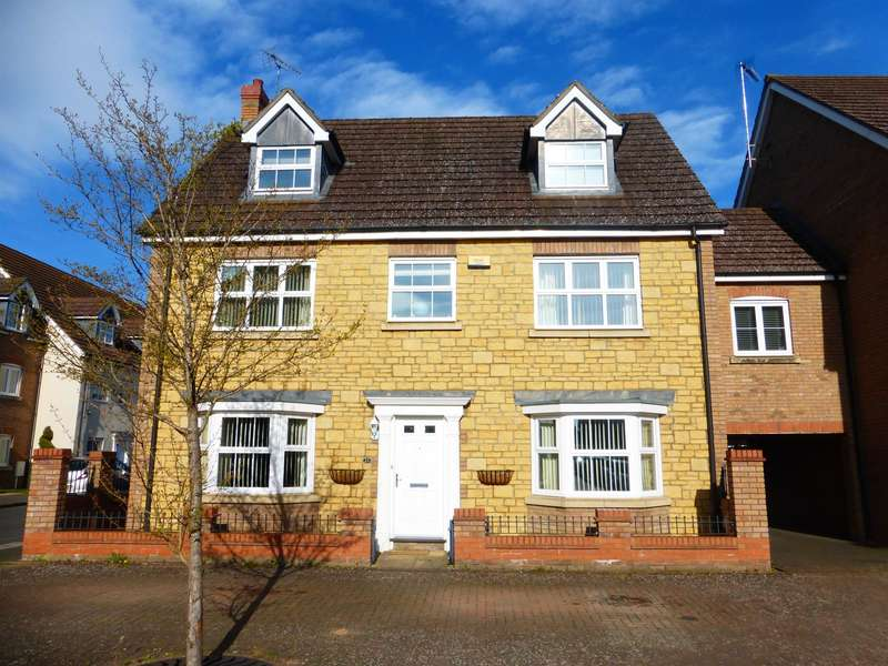 5 Bedrooms Detached House for sale in Harewelle Way, Harrold, BEDFORD, MK43