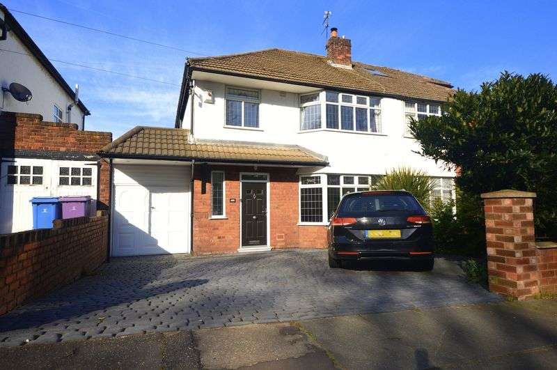 3 Bedrooms Semi Detached House for sale in Woolton Road, Woolton