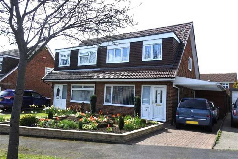 3 Bedrooms Semi Detached House for sale in Balmoral Road, Darlington